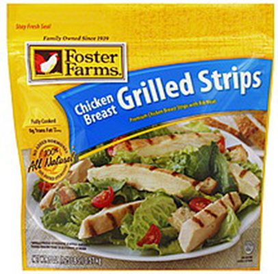 Listeria Recall Foster Farms Chicken Breast Grilled Strips Food